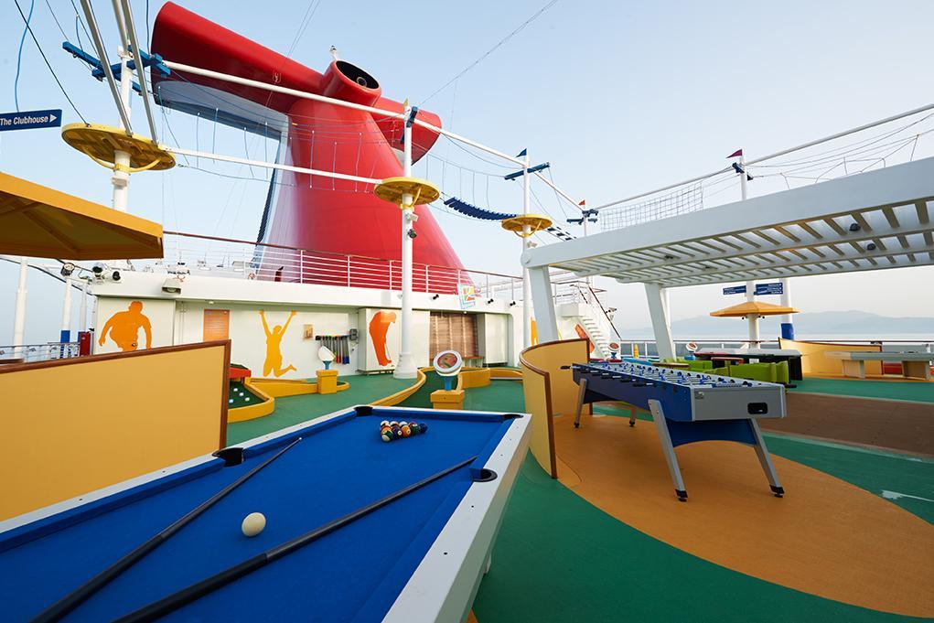 Zona deportiva Carnival Vista
