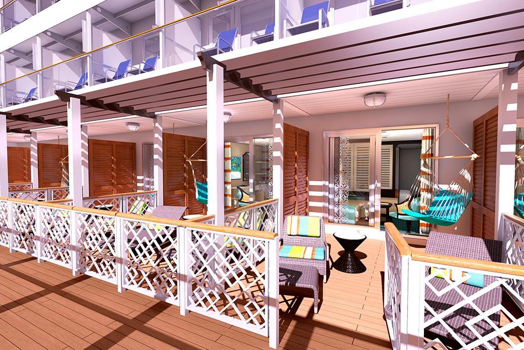 Suites-Havana-Cabana Carnival Vista