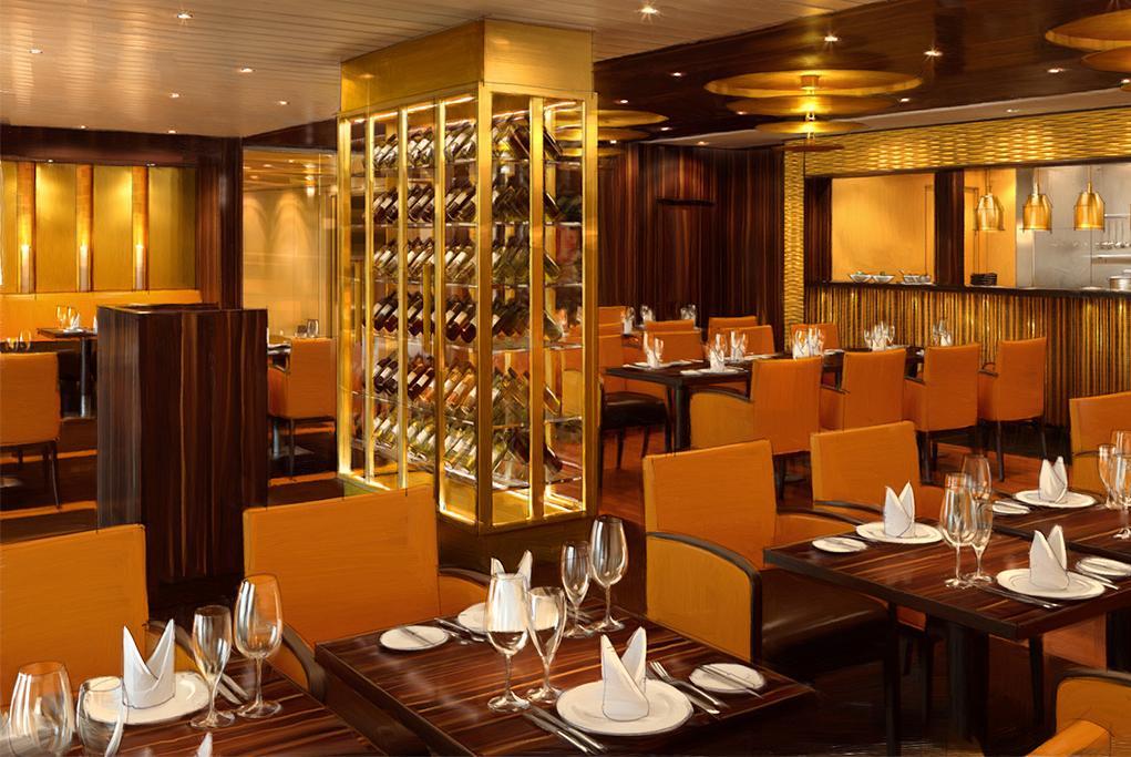 Restaurante Steakhouse Carnival Radiance