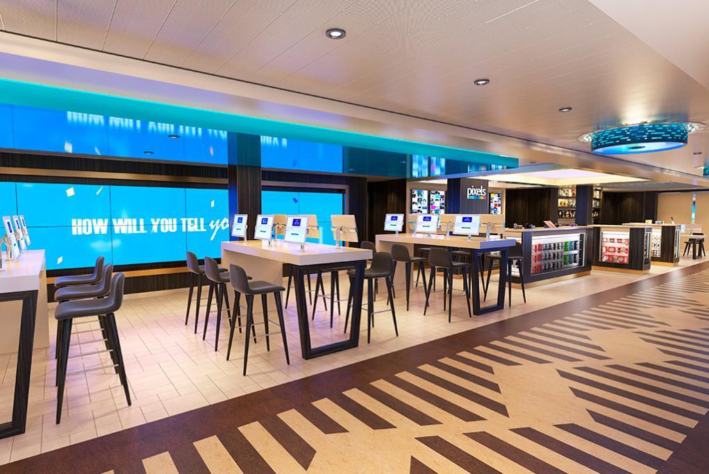 Internet Cibercafé Pixels Carnival Panorama