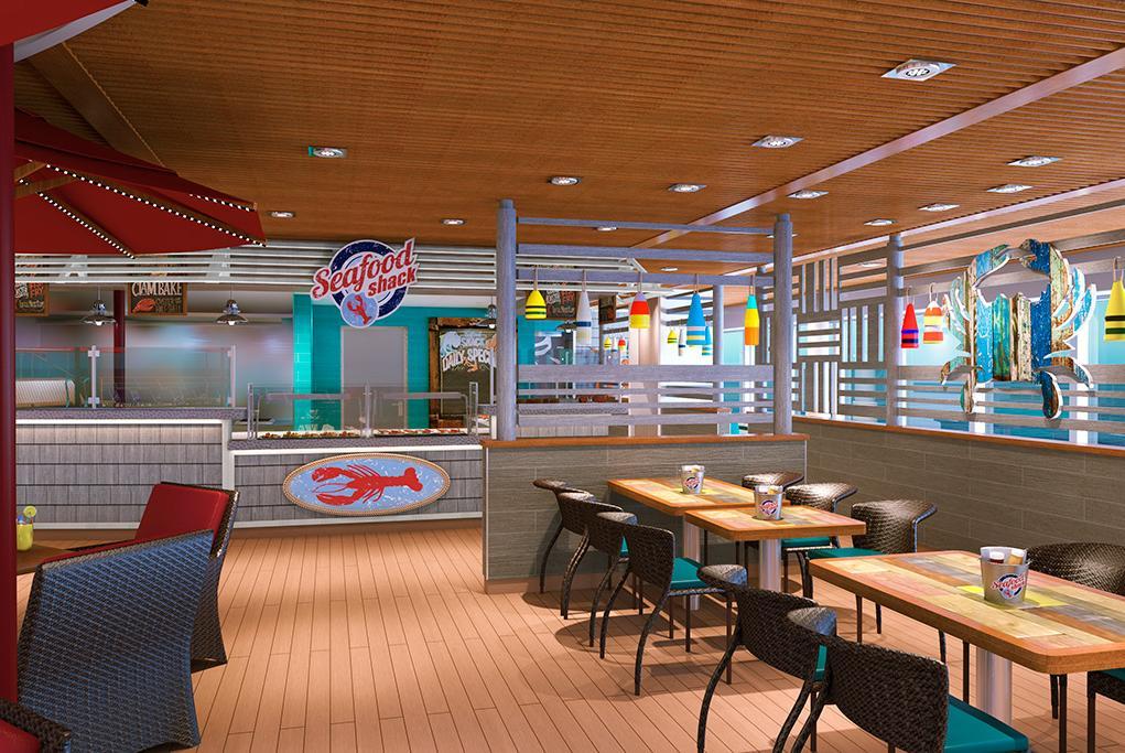 Restaurante Seafood Shack Carnival Panorama