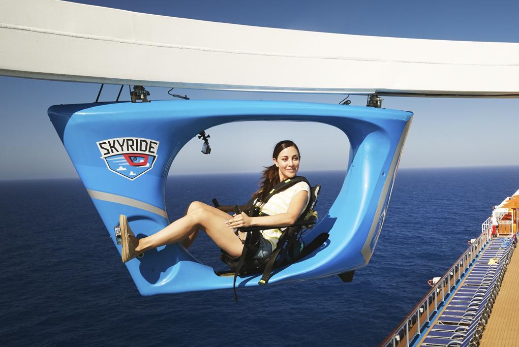 Camarote Vuela en el SkyRide - Carnival Panorama