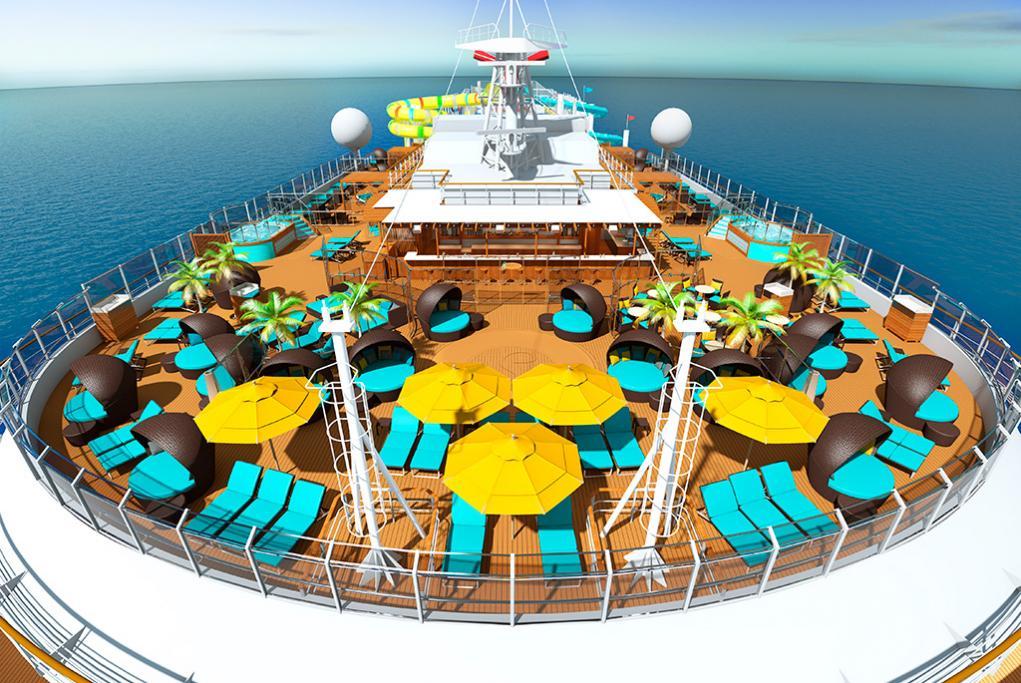 Zona Serenity para adultos Carnival Panorama