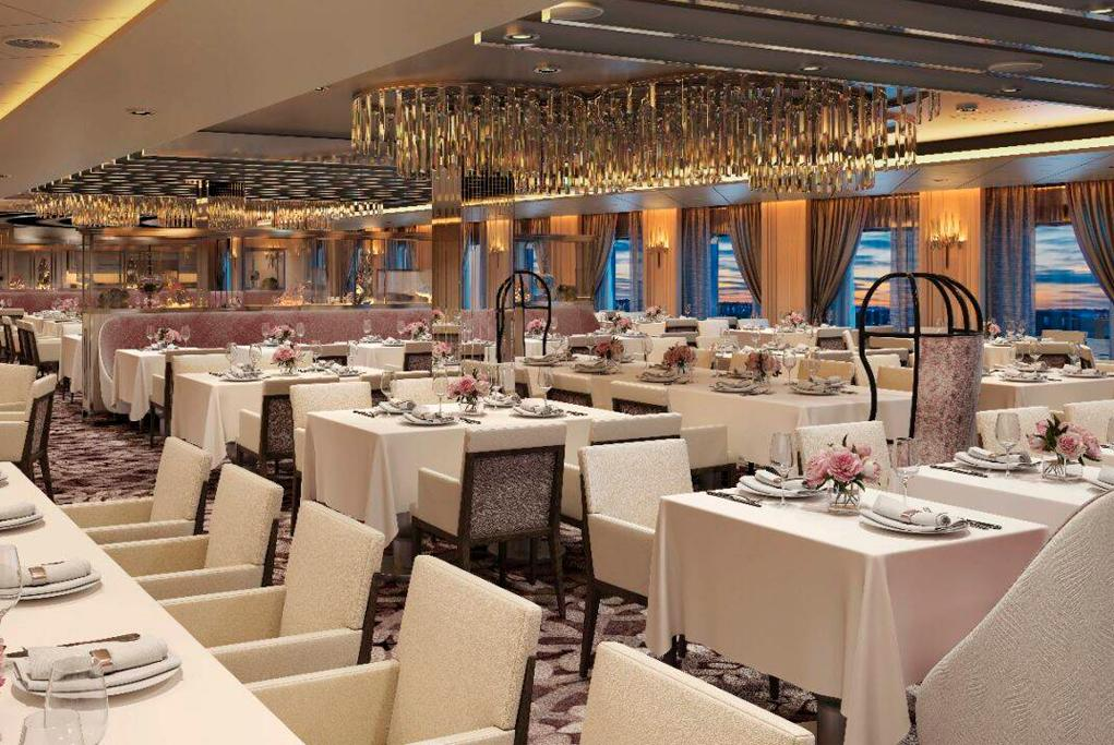 Restaurante Normandie Celebrity Apex