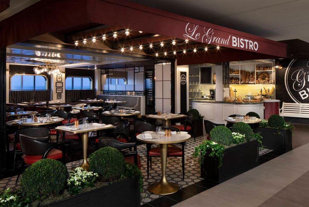 Restaurante Le Grand Bistro Celebrity Edge