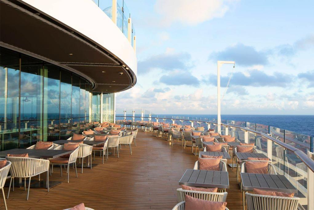 Ocean View Cafe Celebrity Edge