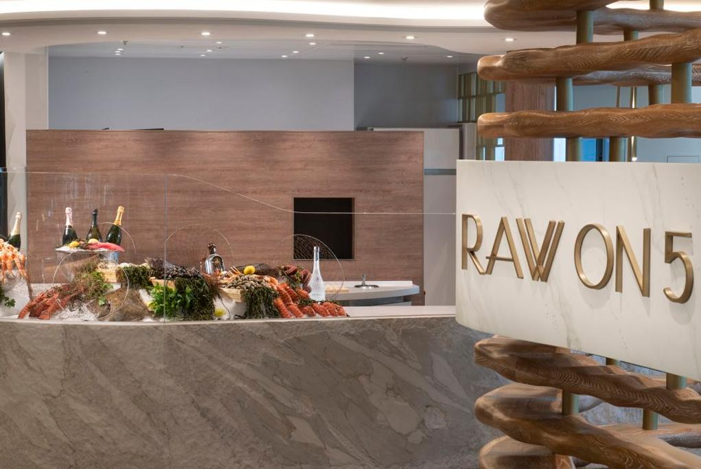 Restaurante Raw On 5 Celebrity Edge