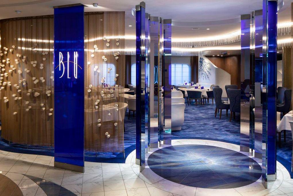 Restaurante Blu Celebrity Edge