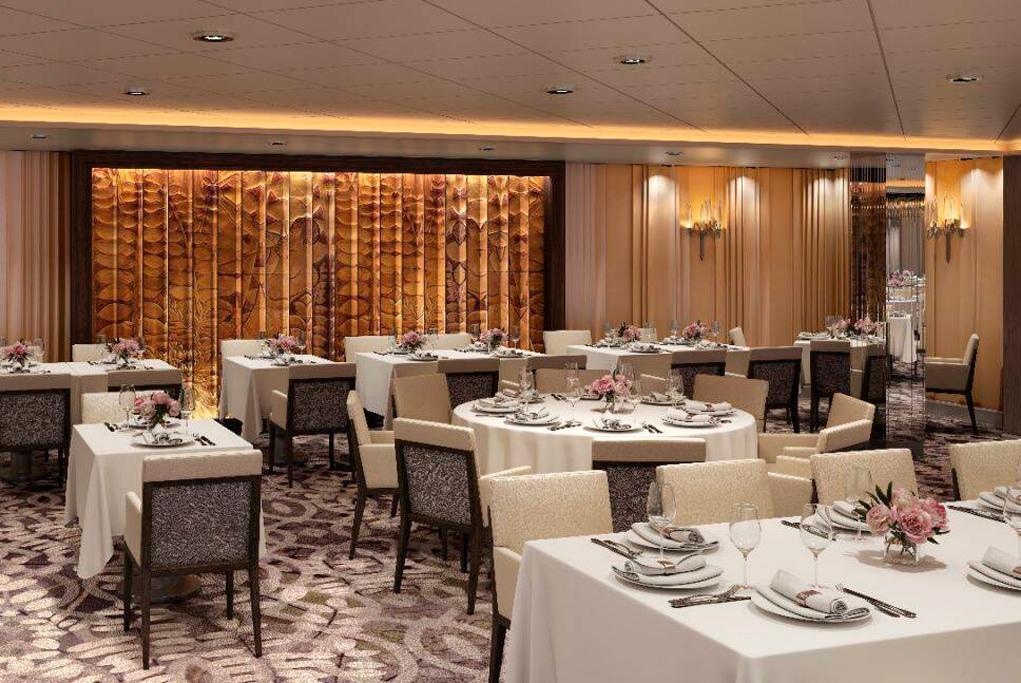 Restaurante Principal Normandie Celebrity Edge