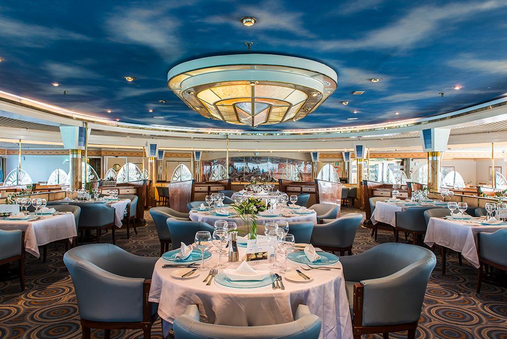 Restaurante Aegean Celestyal Nefeli