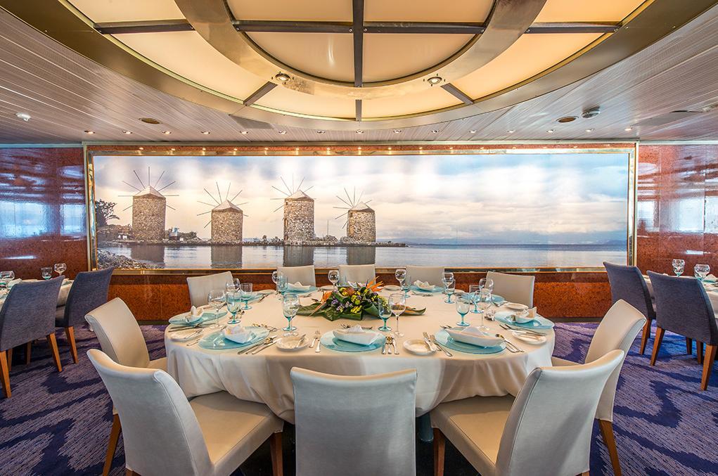 Restaurante Aegean Celestyal Olympia