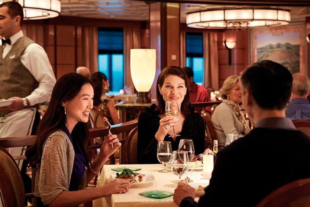 Camarote Restaurante italiano Sabatini´s - Coral Princess
