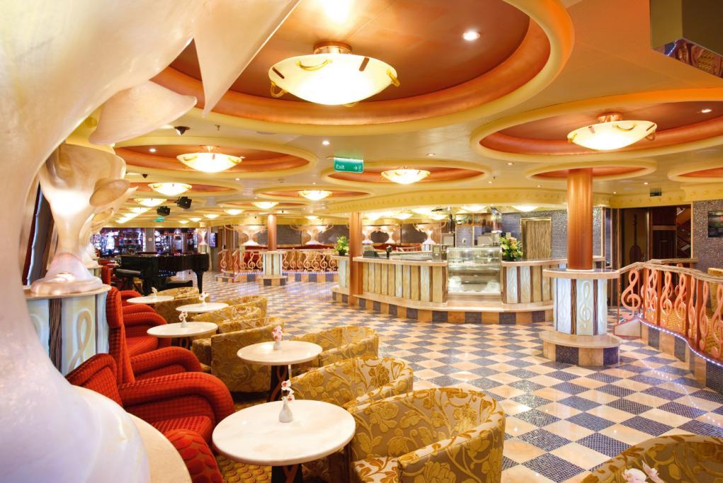 Camarote 5 restaurantes y 13 bares - Costa Pacifica