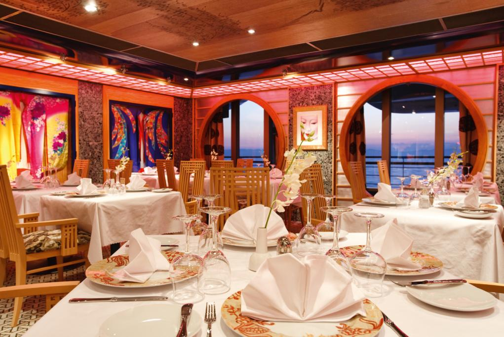 Camarote Restaurante Samsara - Costa Pacifica