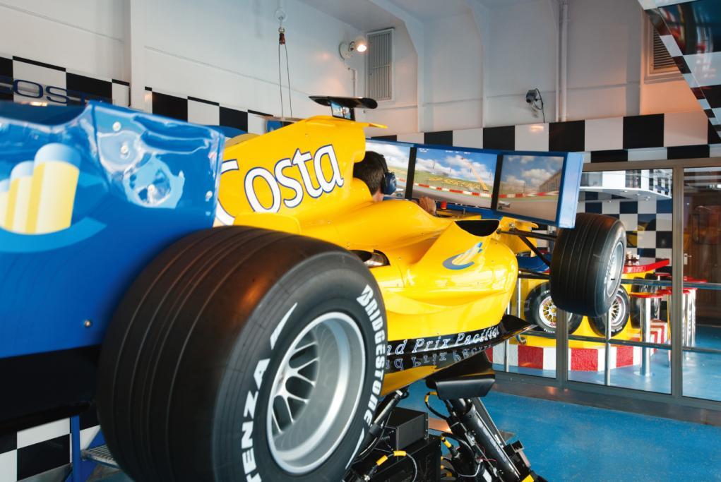 Camarote Simulador de Grand Prix - Costa Pacifica