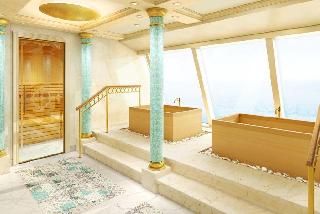 Camarote Bienestar en el Samsara Spa - Costa Venezia