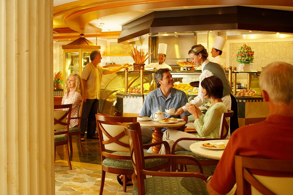 Camarote 24h abierto: International Café - Crown Princess