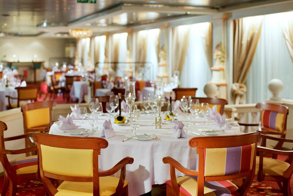 Camarote Restaurante Prego - Crystal Serenity
