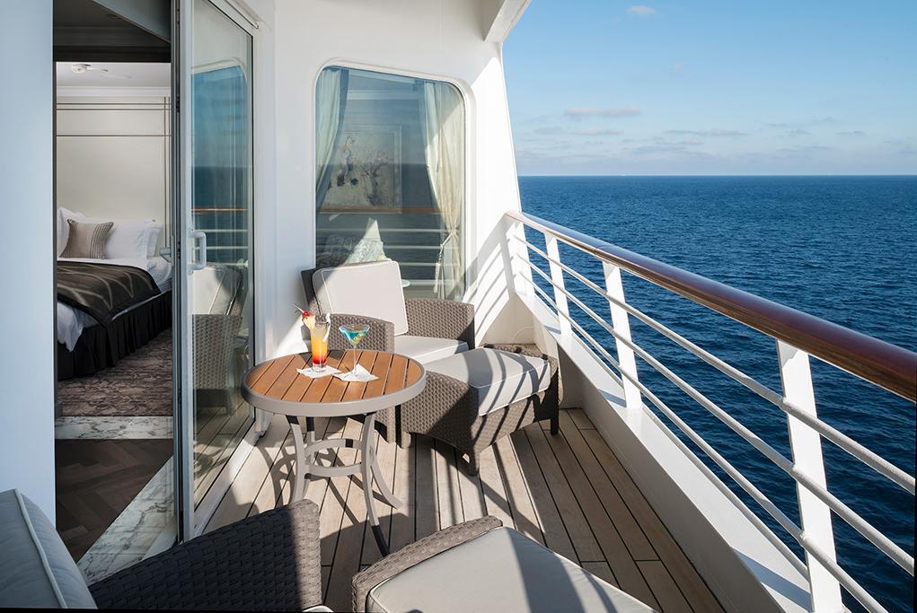 Balcón privado Crystal Serenity