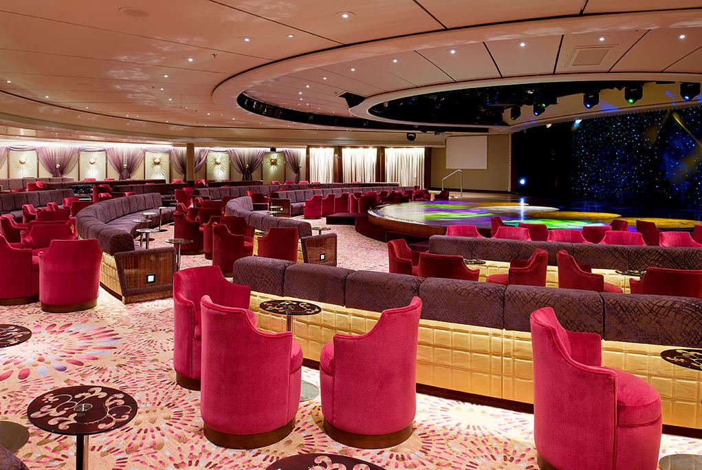 Galaxy-Lounge Crystal Symphony