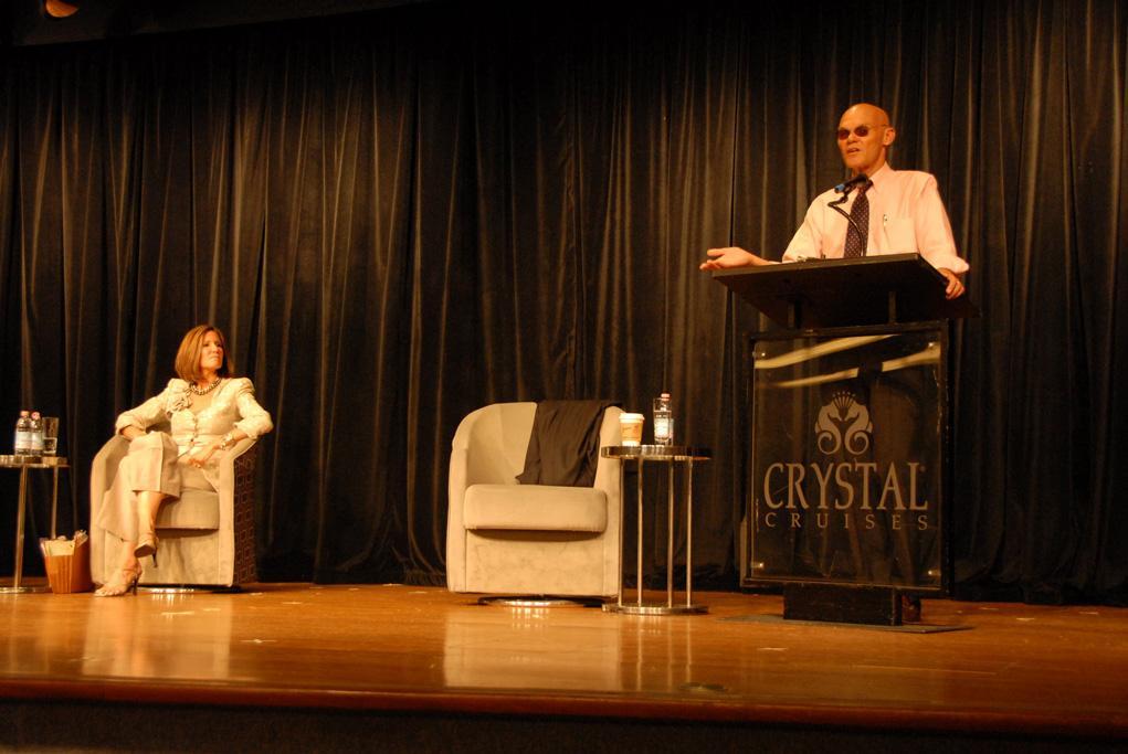 Camarote Expertos ponentes a bordo - Crystal Symphony