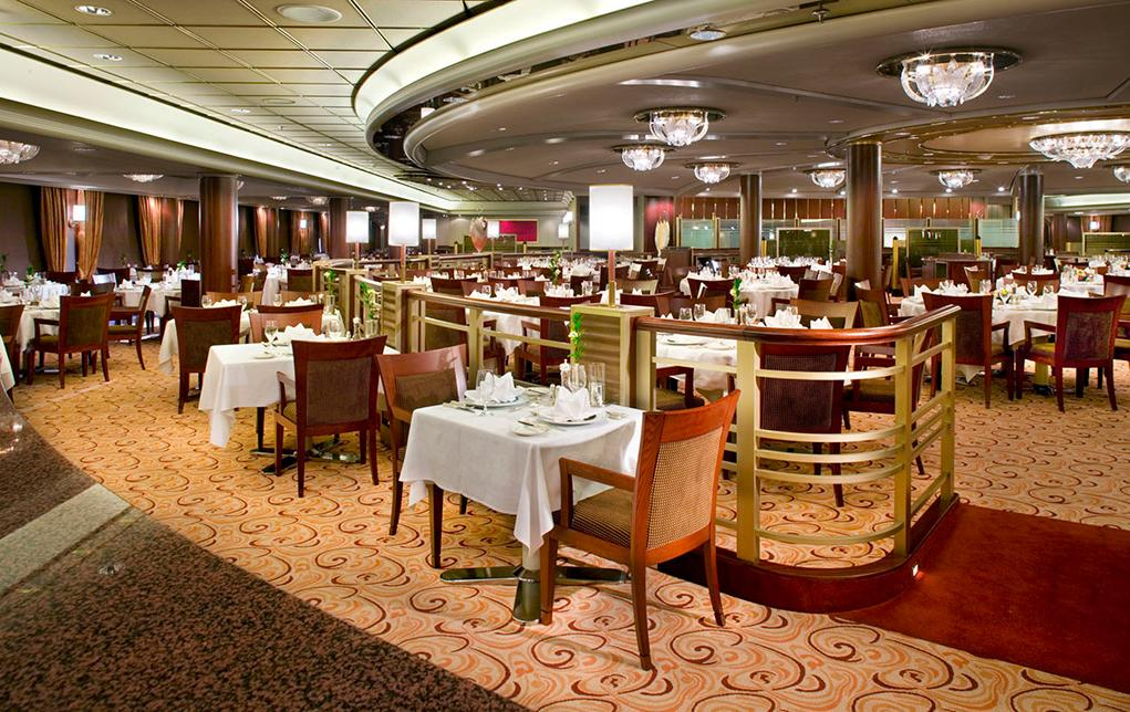 Camarote Crystal Dining Room - Crystal Symphony