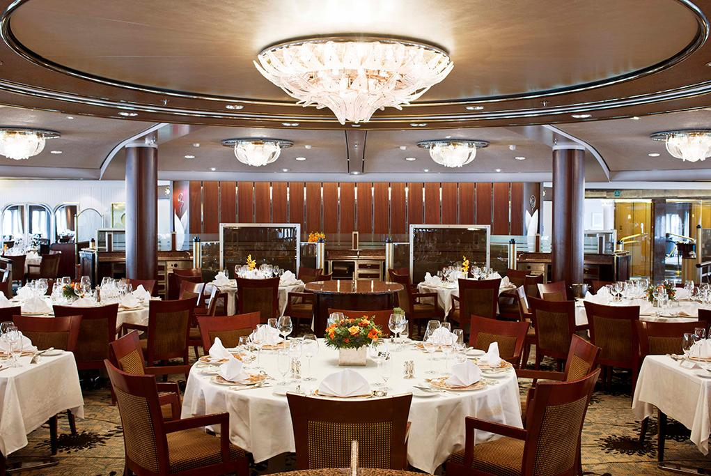 Restaurante-Crystal Crystal Symphony