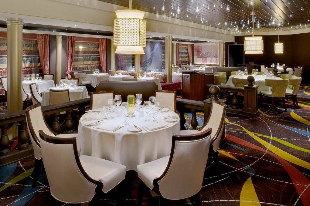 Camarote Restaurante Prego - Crystal Symphony