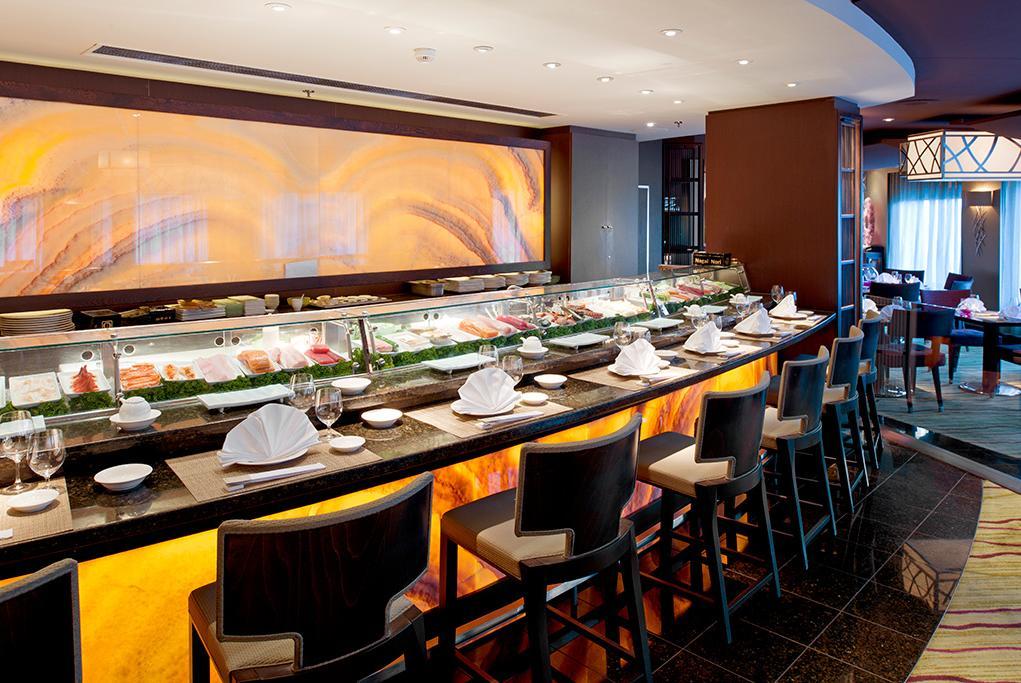 Camarote Sushi Bar - Crystal Symphony