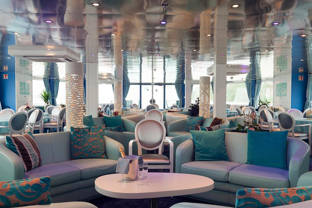 Camarote Salón Lounge - MS Cyrano de Bergerac