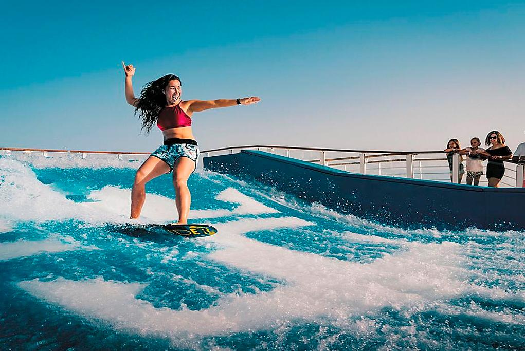 Flowrider Voyager of the seas