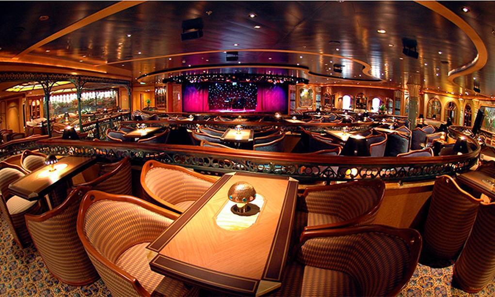 Camarote Explorers Lounge - Island Princess