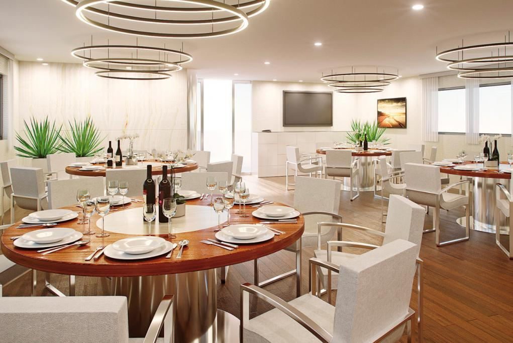 Camarote Restaurante principal - MY Le Cordea II