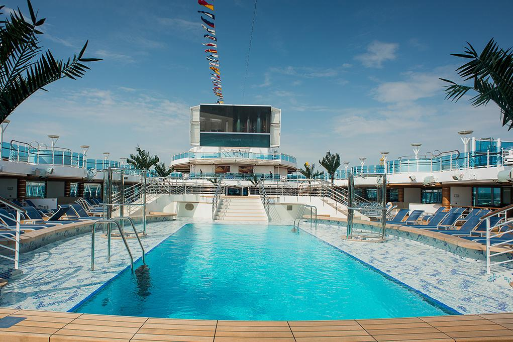 Piscina Exterior Majestic Princess