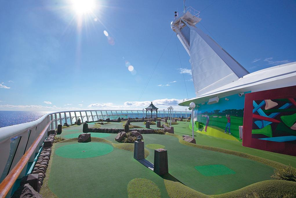 Minigolf Mariner of the seas