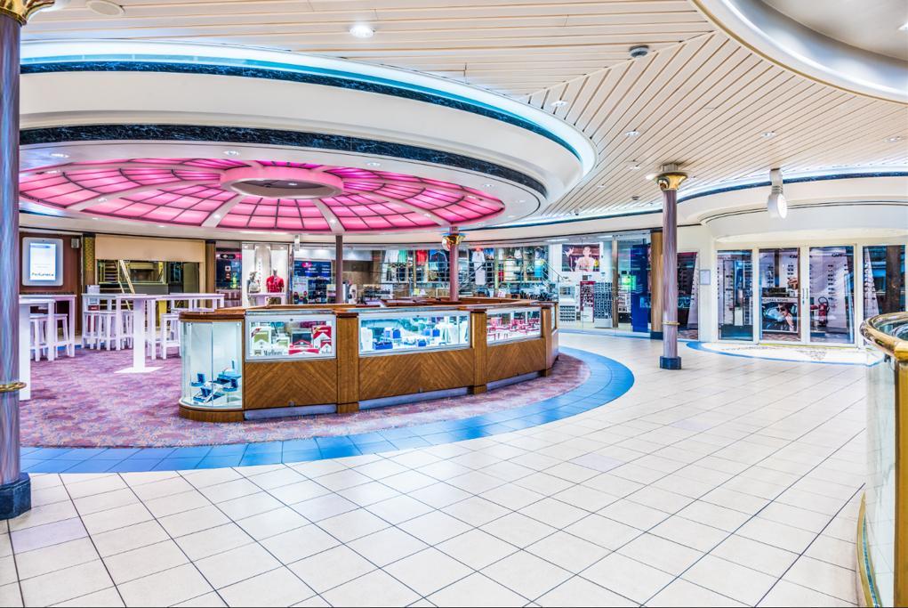 Área de tiendas Monarch