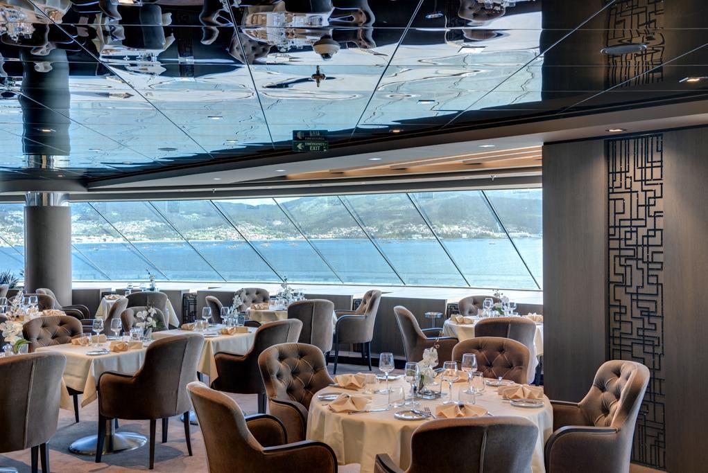 Restaurante Yacht Club MSC Virtuosa