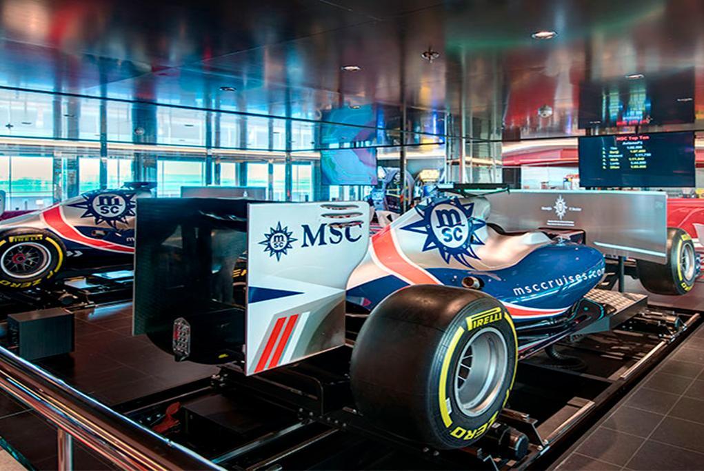 Simulador F1 MSC Virtuosa