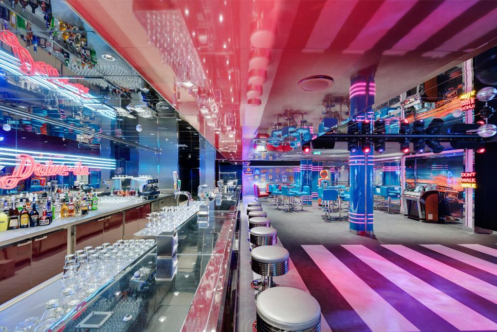 Discoteca Garage Club MSC Seaside
