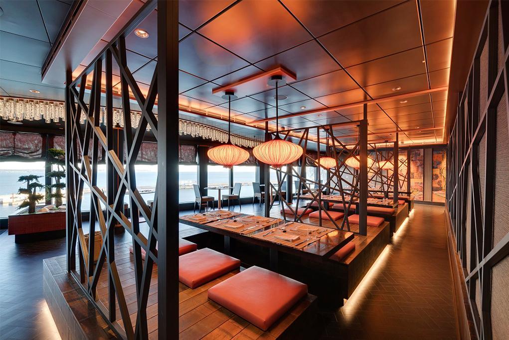 Camarote 9 restaurantes únicos - MSC Seaside