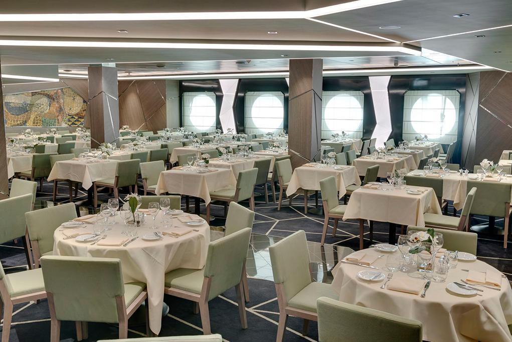 Camarote Restaurantes principales - MSC Seaside