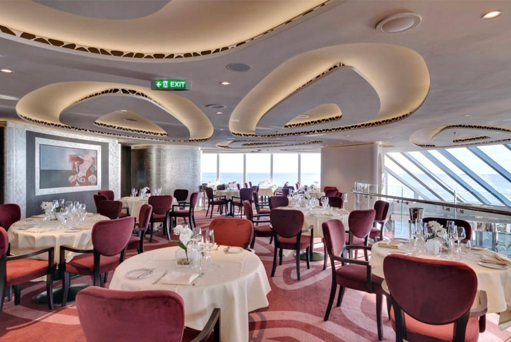 Restaurante Yacht Club MSC Seaside