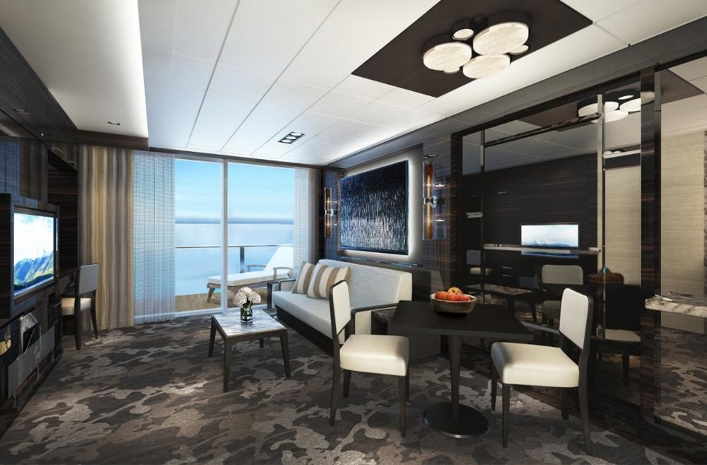 Camarote Haven Suite Norwegian Encore