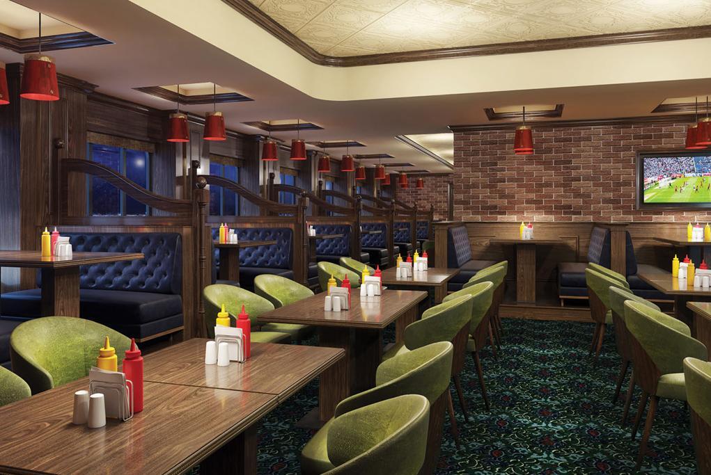 Camarote Pub abierto 24h - Norwegian Encore