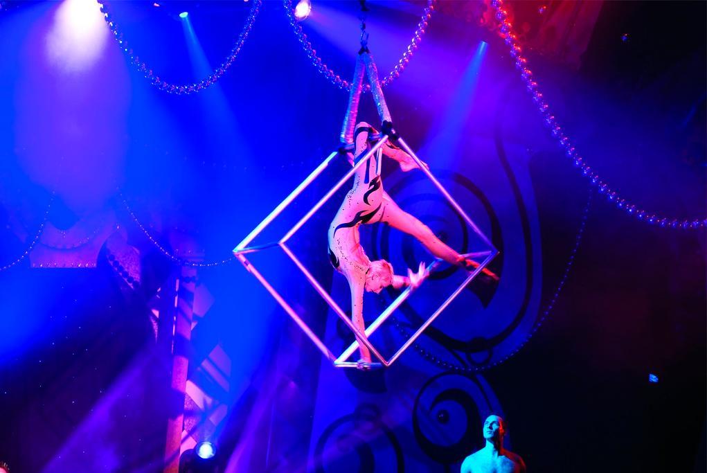 Espectáculo Le Cirque Bijou Norwegian Jewel