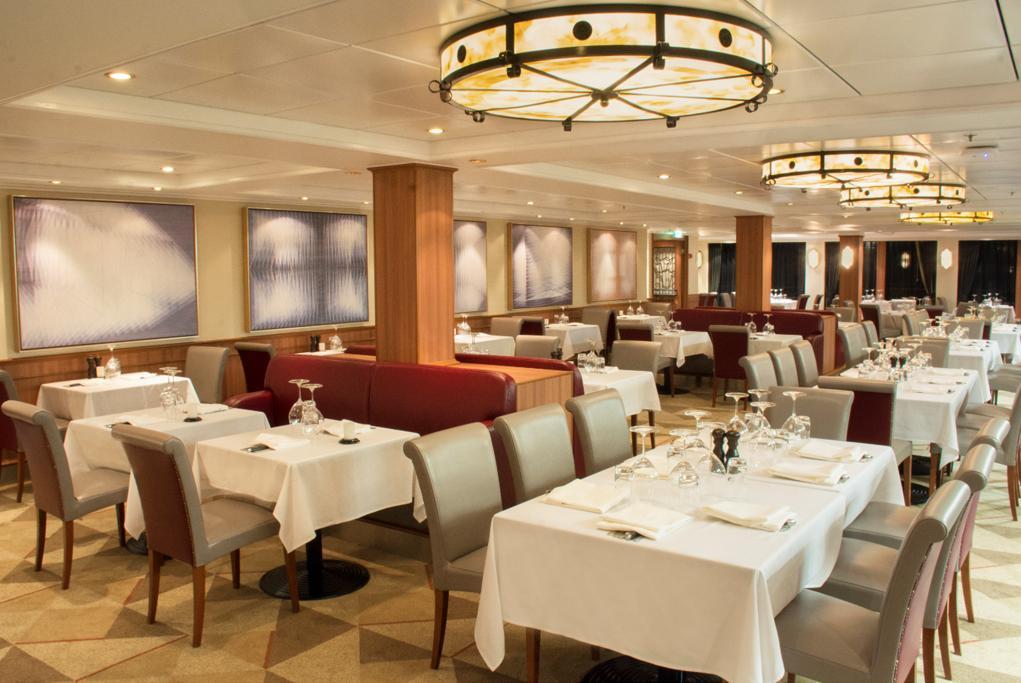 Camarote 13 restaurantes únicos - Norwegian Jewel