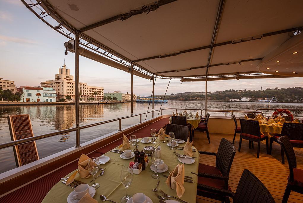 Camarote Restaurante exterior - Panorama II