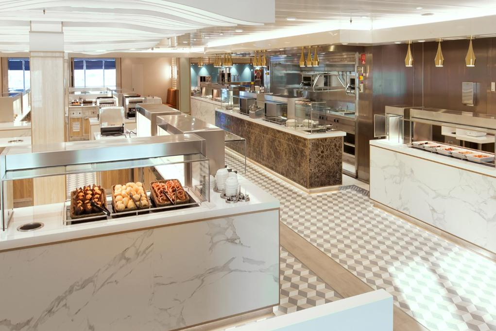 Camarote Kings Court Buffet - Queen Mary 2