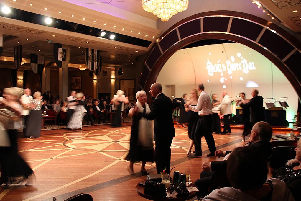 Camarote Bailes de salón - Queen Mary 2