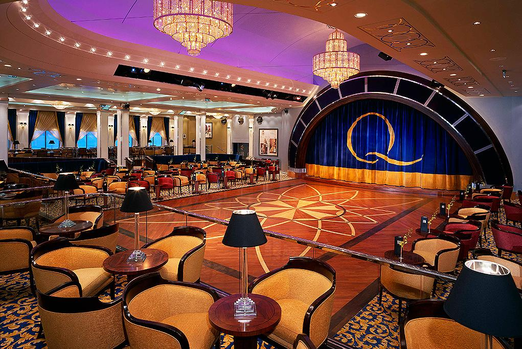 Queens Room bailes Queen Mary 2